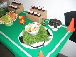 interior design cool soccer themed birthday party decorations