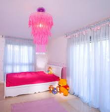 24 pink chandelier light designs decorating ideas design fancy kids room chandelier ideas