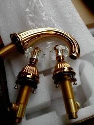 larissa widespread bathroom lavatory sink faucet crystal handles