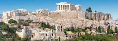 Map Of Athens Greece by Famous Landmarks Annotated Satellite View Of Acropolis Of Athens
