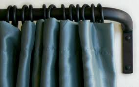 Curtain Rod Instructions Iron Return Rod French Curtain Rod Paso Robles Ironworks