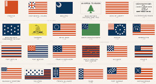 American Flag In Text 48 American Flags That Came Before Today U0027s Stars And Stripes