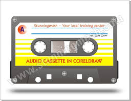 corel draw x4 blend tool vectorial audio cassette in coreldraw stunning mesh