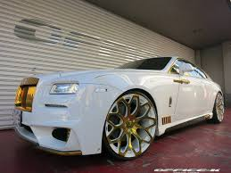 rolls royce ghost gold white rolls royce wraith with gold accents from office k is an
