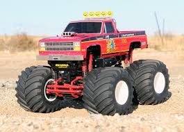 remote control bigfoot monster truck tamiya clod buster i refit mine with modified motors and an astro