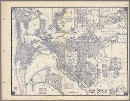 Map San Diego Thomas Bros Map Of San Diego National City U0026 La Mesa California