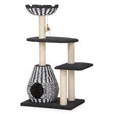 petpals 31 x 26 x 27 cat furniture with nest crown u0026 platform