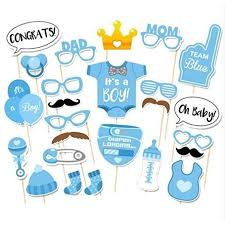 Walmart Baby Shower Decorations Photo Booth Props Funny Diy Kit For Baby Shower Boy Birthday Party
