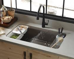 Kitchen Undermount Sinks Kitchen Newly Designed Granite With Undermount Sink And Small