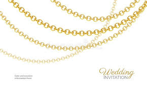 chain necklace design images Gold chain necklace luxury jewelry background wedding invitation jpg