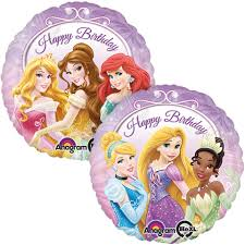 birthday helium balloons happy birthday princess foil balloon buy helium balloons