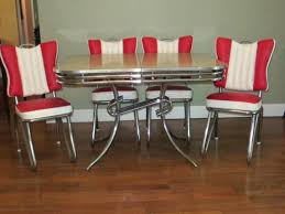 1950s chrome kitchen table and chairs 1950s kitchen table and chairs rare style ready to use art chrome