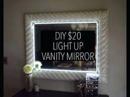 Vanity Makeup Lights Vanities Best Lighting Over Vanity Mirror Diy Vanity Mirror
