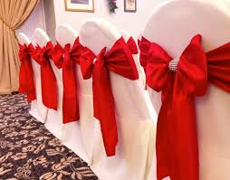 chair bows chair cover hire sash bows hire wedding table swagging venue