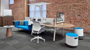steelcase turnstone bivi half round table top space pinterest
