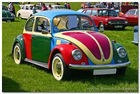 vintage painted vw u0027s vw beetle 1200 l 1972 colour vw beetle
