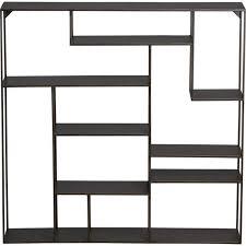 Metal Wall Shelving by Storage Furniture Alcove Wall Shelf Cb2 Metal Shelves Metal