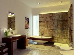 Bathtub Decorations Decorations Interior Bathroom Design With Natural Stone Material