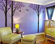 Purple Wall Decals For Nursery Baby Nursery Wall Decals Cherry Blossom Tree Wall Decal Tree