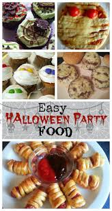 easy halloween party food for kids snapshots and snippets