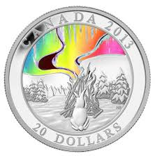20 2013 silver coin a story of the northern lights the
