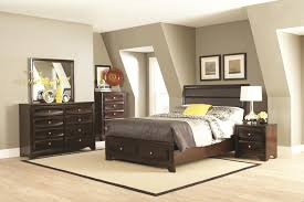Bed With Headboard And Drawers Buy Jaxson King Bed With Upholstered Headboard And Storage