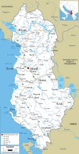 Map Of Greece With Cities by Maps Of Albania Albania Detailed Map In English Tourist Map