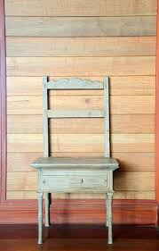 Antique Wood Chair Antique Wood Chair Against Wooden Wall Stock Photography Image