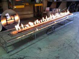 Custom Gas Fire Pits - gas fire pits long how to light a gas fire pits u2013 designs ideas