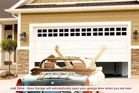 used roll up garage doors for sale amazon com nexx garage remote garage door opener smart garage