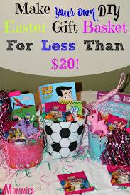 make your own gift basket make your own diy easter gift basket for 20 diy