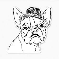 boston terrier coloring page at itgod me