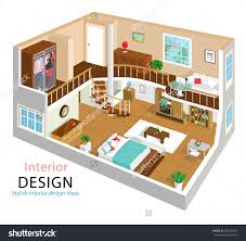 home design 3d ipad upstairs two story house stock vectors vector clip art shutterstock a