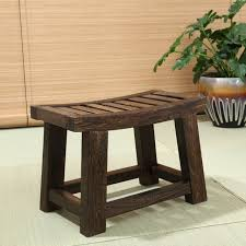 aliexpress com buy japanese antique wooden stool bench paulownia