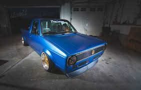 volkswagen caddy pickup mk1 built to drive the dub dynasty 1981 vw caddy u2013 slam u0027d mag