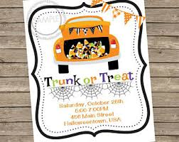trunk or treat etsy