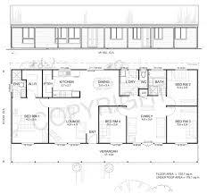 Design Kit Home Online Earlwood 4 Met Kit Homes 4 Bedroom Steel Frame Kit Home Floor