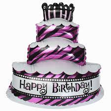 giant birthday cake balloon 1pcs party supplies malaysia