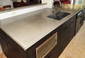 concrete countertops kitchen concrete kitchen countertops pros