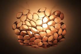 l shades for bathroom fixtures diy ceiling lighting diy coffee sleeve ceiling shade or diy