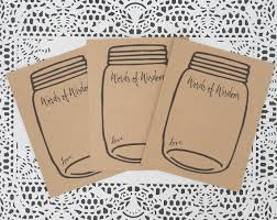 words of wisdom cards for bridal shower words of wisdom cards jar wedding advice card