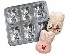 bunny cake mold wilton mini cakes bunny rabbit pan mold 6 bunnies