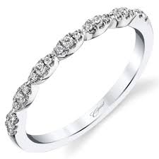 scalloped wedding band coast diamond scalloped pave diamond wedding band with fishtail