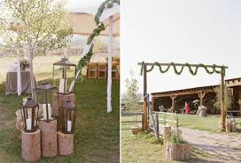 wedding arch log real wedding cecily nick dainty obsessions