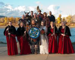 themed weddings wedding theme inspiration a norse viking wedding nearlyweds