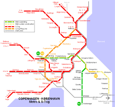 Copenhagen Metro Map by Map Detailed City And Metro Maps Of