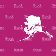 Map Of Juneau Alaska by Juneau Alaska Vector Map Stock Vector Art 828599890 Istock