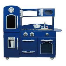 cuisine enfant garcon teamson jeu de cuisine enfant en bois bleu dinette fille garçon td