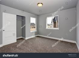 Walk In Basement Small Basement Room Interior Grey Walls Stock Photo 458409850