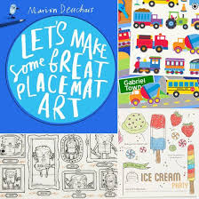 kids placemats placemats for kids popsugar